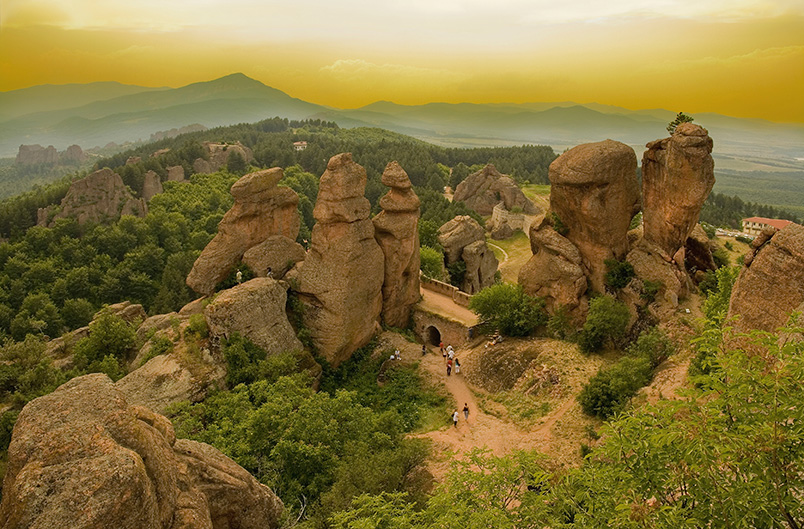 Belogradchik Rock Formations, Bulgaria