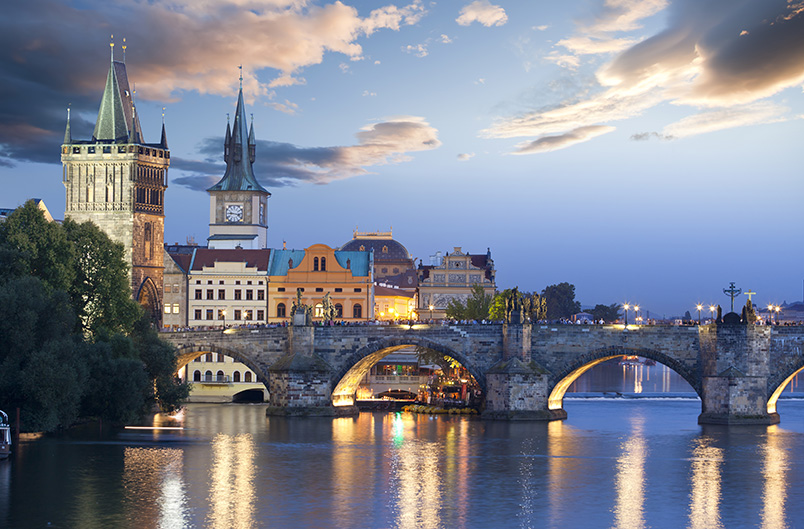 Charles Bridge, Czech Republic, Prague