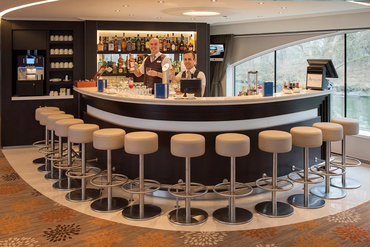 Avalon river cruise bar