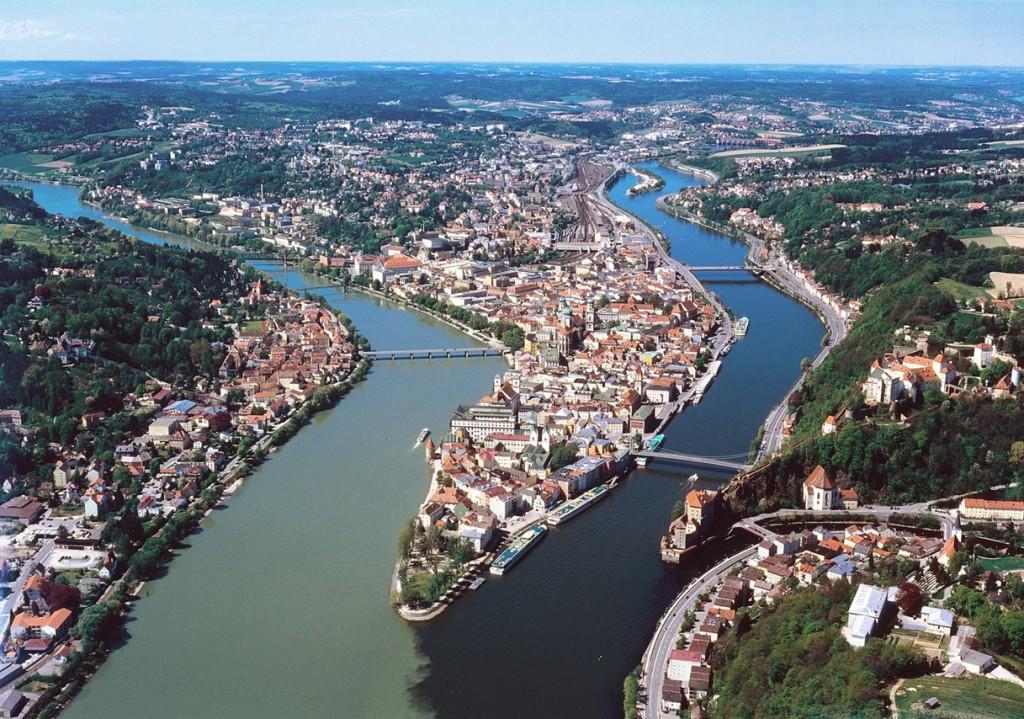 Danube River, Passau