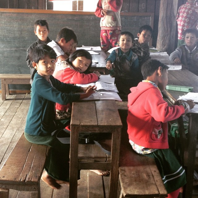 Myanmar Kids in Schoolhouse Cruise Critic