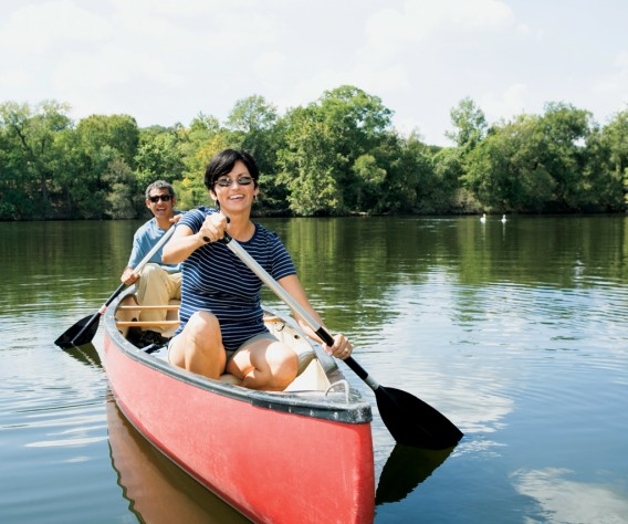 Canoe on our new river cruise itinerary!