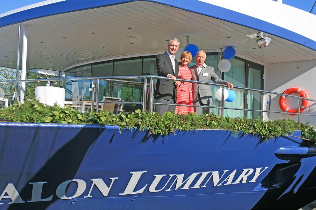Avalon Luminary; River Cruising; christening;